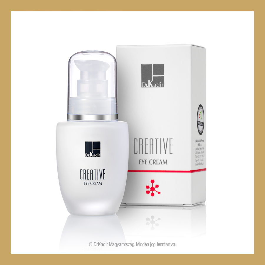 Creative eye cream