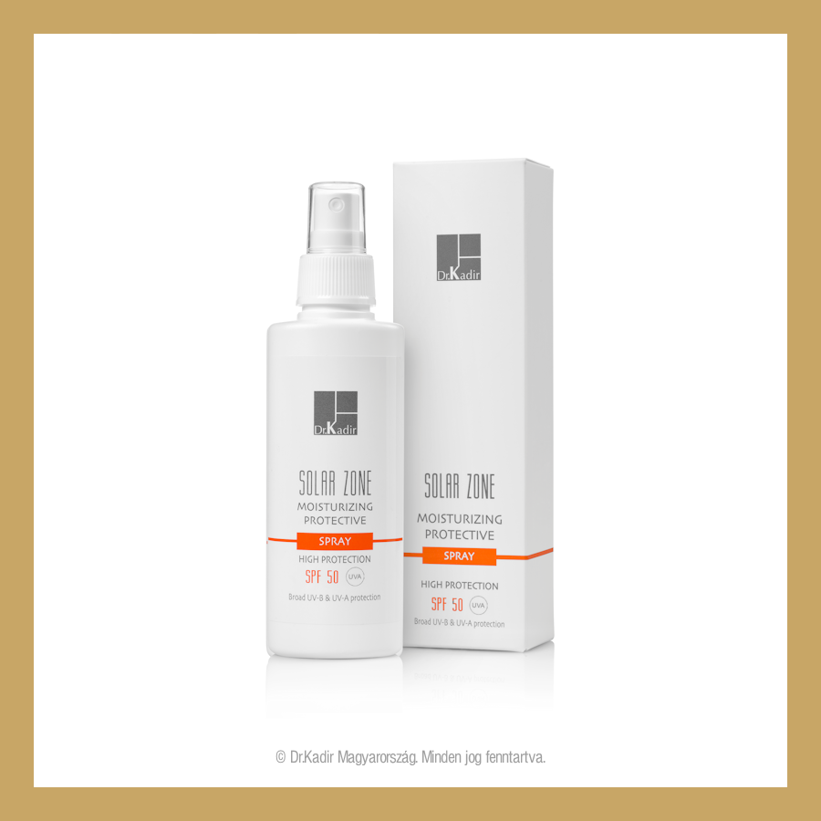Solar Zone Moisturizing Protective 50 Spray